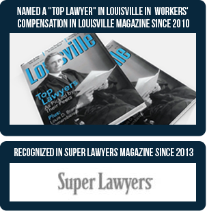 "Named a ""top lawyer"" in Louisville in workers' compensation in Louisville magazine since 2010. Recognized in Super Lawyers Magazine since 2013"